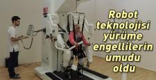 Yürüme engellilerin robot umudu