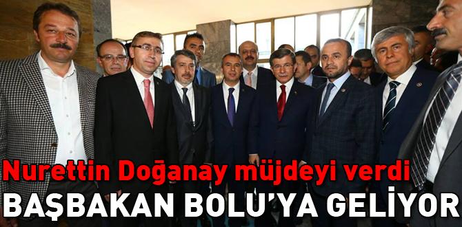 Başbakan Ahmet Davutoğlu Bolu'ya geliyor