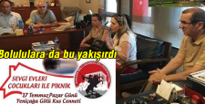 Ankara'da ki Bolululardan anlamlı piknik