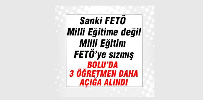 3 öğretmen FETÖ'den açığa alındı