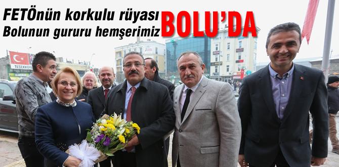 HSYK Başkanvekili Mehmet Yılmaz'dan Bolu Belediyesi'ne ziyaret