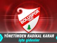 Boluspor'da gidecek futbolcular açıklandı