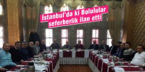 İstanbul'da büyükşehir belediyesi seferberliği
