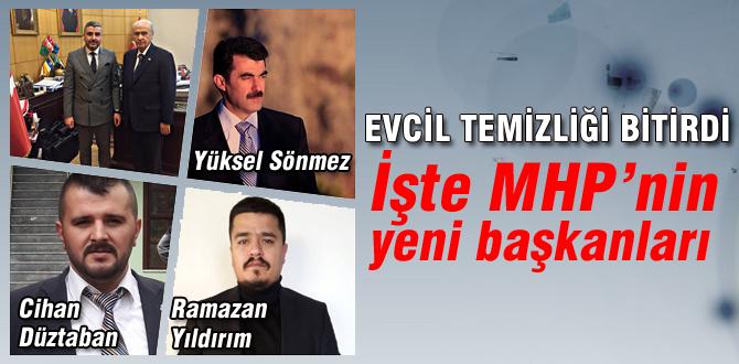 İşte MHP'nin yeni başkanları