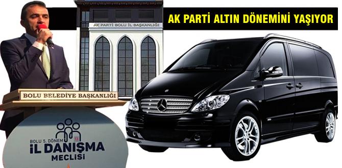AK Parti Bolu'da altın dönemini yaşıyor
