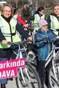 Atatürk Orman Parkı'nda bisiklet devri