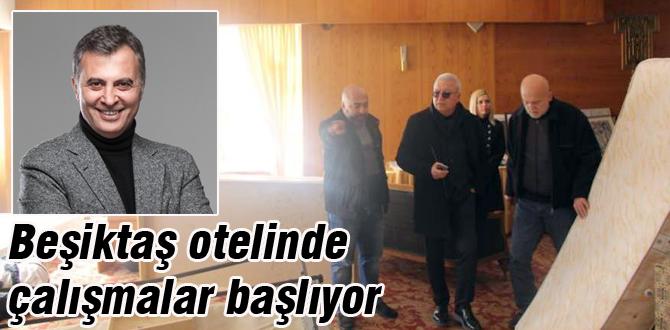 Beşiktaş Geredede çalışmalara başlıyor
