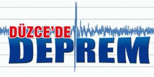 Düzce'de deprem meydana geldi