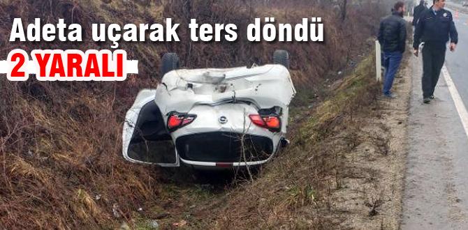 Bolu Dağı'nda trafik kazası