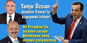 Tanju Özcan'dan açıklamalar