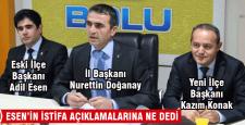 Doğanay'dan istifa açıklaması