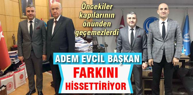 Evcil'in Ankara çıkarması