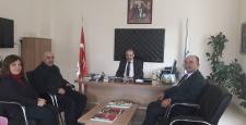Mehmet İnegöl'den yeni müdüre ziyaret