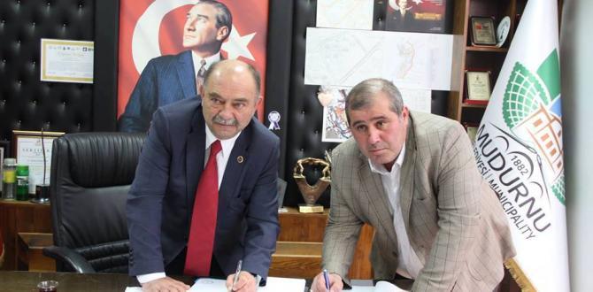 Mudurnu Belediyesi ve Belediye İş Sendikası arasında toplu sözleşme imzalandı