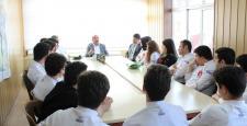 Erasmus öğrencilerinden Bulut'a ziyaret