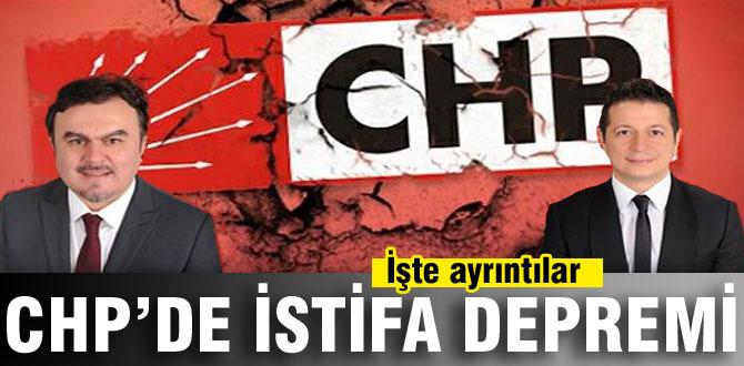 CHP'de istifa depremi