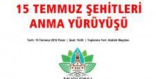 Mudurnu'da 15 Temmuz yürüyüşü yapılacak