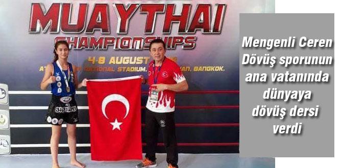 Taylandlılara ata sporlarının dersini verdi