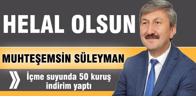 Muhteşem Süleyman'dan muhteşem hareket