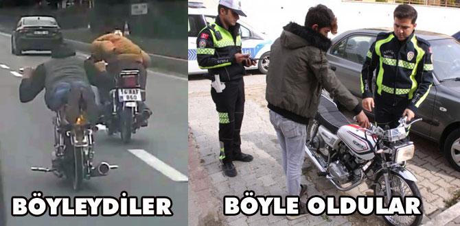 Polis peşlerini bırakmadı