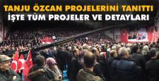 Tanju Özcan 52 projesini açıkladı