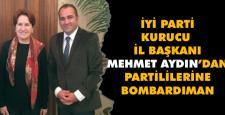 İyi Parti kurucusu meclis üyelerini bombaladı