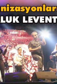 Atatürk'ün Bolu'ya gelişinin 85'inci yıldönümünde Haluk Levent sahne aldı