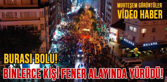 BOLU'DA ZAFER BAYRAMI COŞKUSU