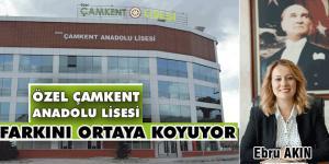 Özel Çamkent Anadolu Lisesi zamanla yarışıyor