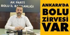 AK Parti'den Ankara'da Bolu zirvesi