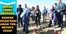 Başkan Özcan'dan Fatih Metin'e cevap