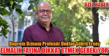 ELMALIK'A DİKKAT ETMEK GEREK