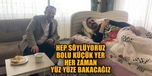 Özcan'dan Doğanay'a ziyaret