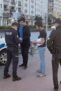 Bolu'da, yasağa uymayan 8 kişiye 24 bin lira para cezası verildi
